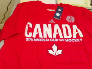 World Cup of Hockey T-shirt- Mens Medium- NWT