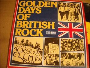 Golden Days of British Rock a 2 LP set.