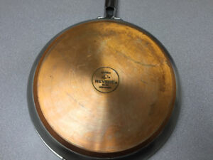 Solid 12 inch Copper/Stainless Pan