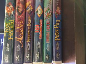 RARE Walt Disney VHS Black Diamond Edition