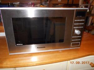 Panasonic Genius Inverter Stainless Microwave