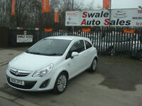 2011 VAUXHALL CORSA ecoFLEX EXITE 1L ONLY 31,717 MILES, FULL SERVICE HISTORY