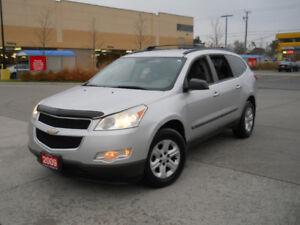 2009 Chevrolet Traverse LS, 7 Passen, Auto, 3/Y warranty availab