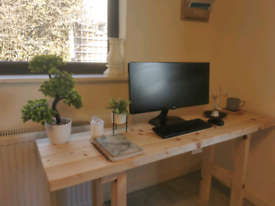 Timber Rustic home office desk
