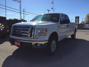 2011 Ford F-150 LONG BOX - EXT CAB * 4 x 4*CERTIFIED *