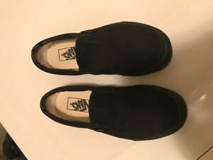 Size 7.5 Youth/Women Vans Shoes