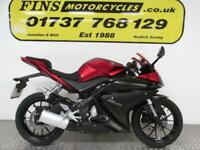 Yamaha YZF125R, Red, Ideal 1st bike, 1 Owner, Rides well, FSH, MOT, Warranty
