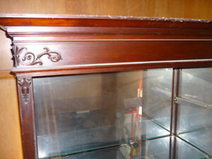 Antique Dispaly Cabinet