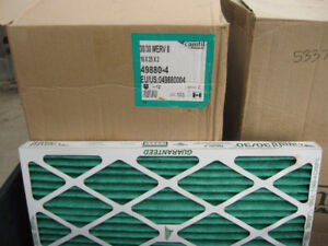 New Furnace air filters