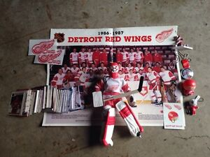 Red Wings Items
