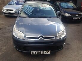 CITREON C4 1.6 ONLY 76000 MILES FULL SERVICE HISTORY £1395