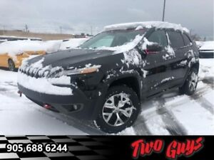 2014 Jeep Cherokee Trailhawk  AWD - Leather Seats -