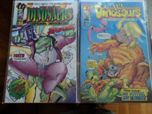 DINOSAURS FOR HIRE comics + 2 Dinosaurs mini series