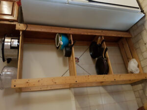 Great Wooden Pantry/Kitchen Shelf!