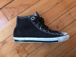 Converse All Star Luxe US10 noires - doublure