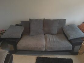 3+2 Seater sofas with matching cushions