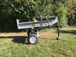 For rent: Wood Splitter, dump trailer, tractor