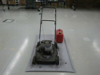 Garage Floor Mat for Riding Lawnmower