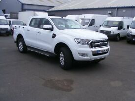 Ford Ranger Super Cab 4x4 2.2TDCi 160PS XLT (white) 2016