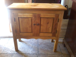 Antique Pine Cabinet-Handcrafted