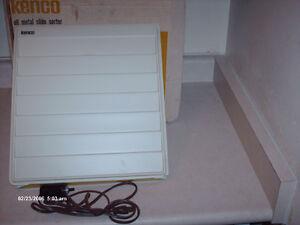 Vintage Kenco Lighted Slide Sorter Model 450 in Original Box