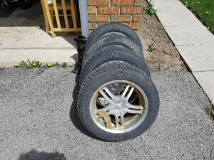 Mazda 3 Rims two sets original and aftermarket