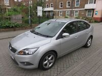 2009 09 FORD FOCUS ZETEC 1.6 AUTO AUTOMATIC SILVER**ONLY 36K**