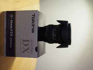 Tokina AT-X PRO 11-16mm f/2.8 DX IF For Nikon (As good as new)