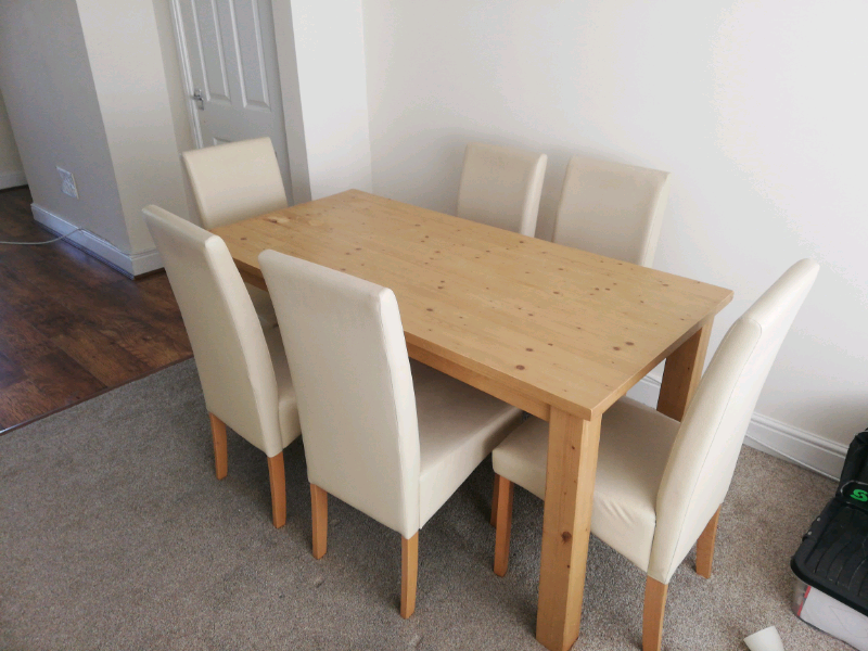 Pleasant Dining Set 6 In Swansea Gumtree Home Interior And Landscaping Palasignezvosmurscom