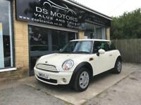 2010 Mini 1.6 One Minimalist white petrol