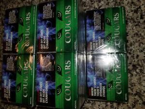 Menthol cartons of cigarettes. $40/carton.