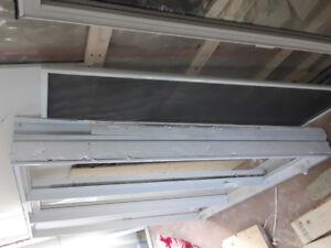 Fenêtre thermos (à manivelle)