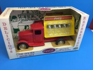Coca Cola Metal Delivery Truck