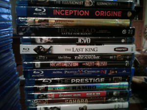 Blu ray dvds - brand new - assorted movies