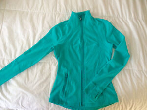 Light Blue Lululemon sweater