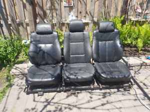 3 leather seats from BMW for any cargo van or BMW