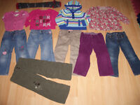 LOT - 17 -- items of clothes --------------- GIRL ------ size 3