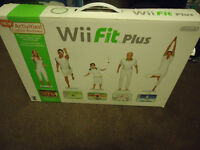 Wii Fit Plus Bundle with Balance Board - NEW in opened Box