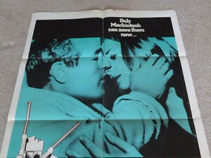 Macintosh Man 27 x 41 Original Film Poster starring Paul Newman London Ontario image 2