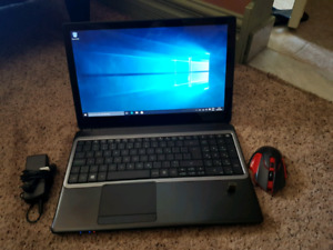 """{GAMING}Acer gateway 15""""~INTEL PROCECOR × gaming mouse INCL"""