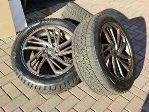 "MAZDA CX9 GRAND TOURING 20"" WHEELS & BS BLIZZAK TIRES. LIKE NEW"