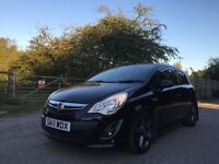 Vauxhall corsa SRI black edition spotless face lift