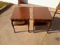 End Tables (French Provincial)