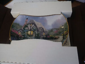 Collector's Dish- Chandler's Cottage by Thomas Kinkade Prince George British Columbia image 5