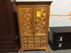 Nightstands starting of 75$ up to 249$ and chest 299$
