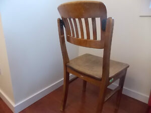 unique maple chair with swivle back Prince George British Columbia image 3