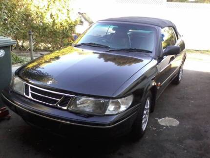 1998 Saab 900S Convetible City North Canberra Preview