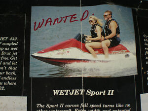 WANTED.WETJET PWCS. Whole[any condition] or new/used parts.