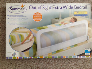 Never out of box hide away bed rail