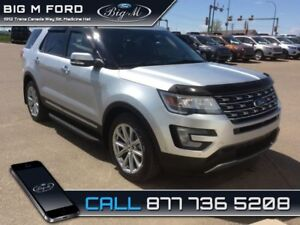 2016 Ford Explorer Limited  - one owner - local - $279.18 B/W